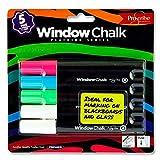 Premier Stationery Pro: Scribe Window krijtstiften in verschillende kleuren. 5 stuks