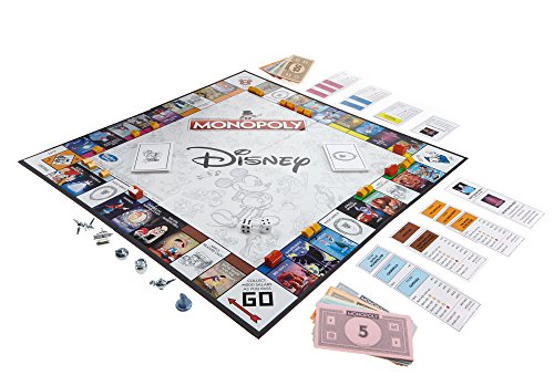 Disney Animation Edition Monopoly
