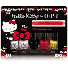 OPI Nail Lacquer - Hello Kitty Collection - Friend Pack Minis - 3.75ml / 0.125oz Each