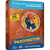 STEELBOOK PADDINGTON EDITION SPECIALE LIMITEE FNAC