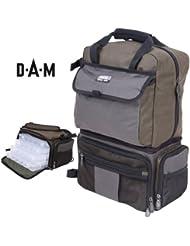 DAM Multi sac à dos - 38 x 21 x 47 cm, ca. 20 L, un maître de la fonctionnalité!