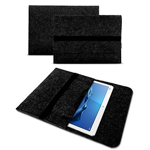 UC-Express Tasche Hülle für Lenovo Ideapad Miix 320 310 300 Filz Case Sleeve Cover Bag Schutzhülle, Farben:Dunkles Grau