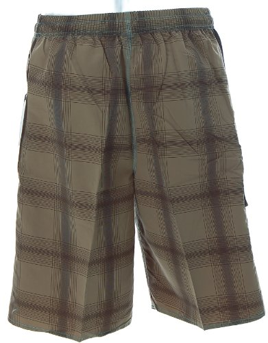 Shiwi Herren Badeshorts Boardshorts Strandshorts Shorts Badehose Braun
