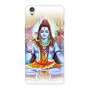 Enticing Blessings Of Shiva Back Case Cover for OnePlus X