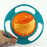 Sharplace Baby Gyro Schüssel 360 Rotierenden Kinder Vermeiden Essen Verschütten