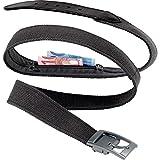 Go Travel Leather Trimmed Secret Discreet Adjustable Money Belt Bank (Ref 950)