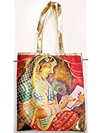 Women's Tote Bag Digital Print Hand Bag Zipped Fashion Canvas Large Space - B076X2RGLH