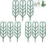 Traliccio di supporto in plastica per piante e fiori rampicanti -  35,5 x 10cm