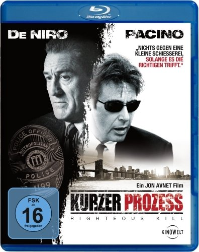 Kurzer Prozess - Righteous Kill [Blu-ray] (Europa Kurz)