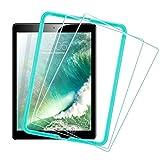 ESR Protector Pantalla para iPad 2018 [2 Piezas] [Instalación Fácil] Cristal Vidrio Templado para iPad 2018/2017/iPad Air 2/iPad Air/iPad Pro 9.7/iPad 6ª/5ª Generación
