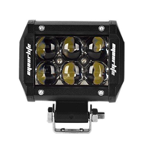 Eyourlife 3,8' 18W Flood Faro da Lavoro Luce di Profondità 4D Fish-eye CREE LED Faro Impermeabile LED per 4WD SUV ATV UTV Camion Anche Adatto per MOTO
