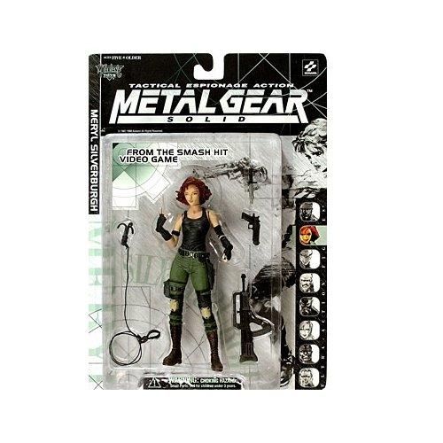 Metal Gear Solid Figur 5 Meryl Silverburgh / 36 Metal Gear Solid 4 Für Xbox 360