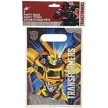 6 Partido Bolsas Transformers? - Un tamaño