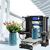 Anet A6 3D Drucker,LCD-Bildschirm,3D-Desktop-Drucker Extruder DIY 3D Printer Modularisierter Filament pla 1,75 mm