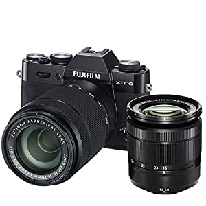 Fujifilm X-T10 Systemkamera inkl. Fujinon XC 16-50 mm
