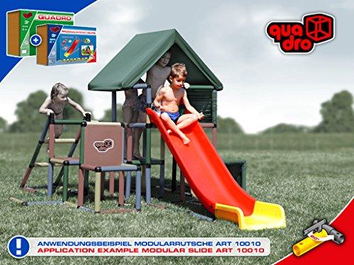 Quadro Klettergerüst Alternative : Klettergerüst mit rutsche wickey spielturm sunflyer kletterger st