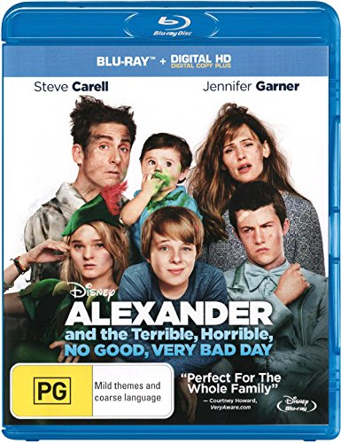 Preisvergleich Produktbild Alexander and the Terrible,  Horrible,  No Good,  Very Bad Day (Blu-ray)
