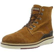 Napapijri C4, Zapatillas de Estar por Casa para Hombre, Mostaza, 45 EU