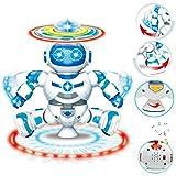 HKFV Elektronischer gehender tanzender intelligenter Raum-Roboter-Astronaut Kids Music Light Toys Kinderspielzeug Licht Musik Tanzroboter