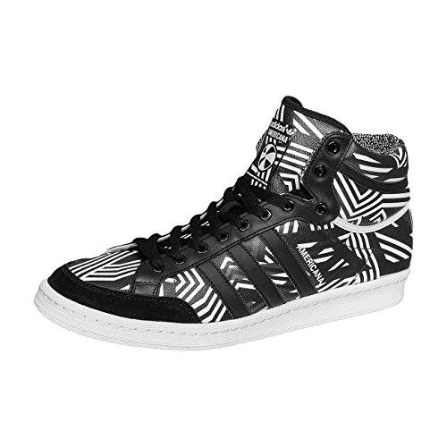 AMERICANA HI 88 - Chaussures Homme Adidas - schwarz-grau-weiß