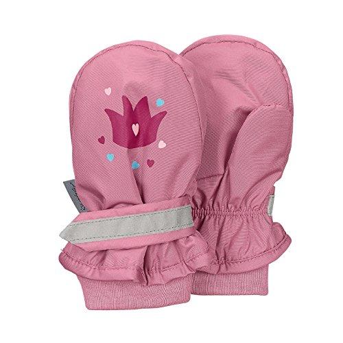 Sterntaler Sterntaler Fäustel für Kinder, Handschuhe, Wasserabweisend und reflektierend, Alter: 3-4 Jahre, Größe: 3, Pink (Perlrosa)