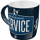 Nostalgic-Art 43034 Retro Kaffee-Becher Volkswagen - VW Service & Repair, Große Lizenz-Tasse mit VW-Motiv, Geschenk-Idee für Vintage-Liebhaber, 330 ml