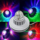 MAKE IN INDIA SFL DIWALI DECORATIVE LOTUS SUNFLOWER DISCO LED LIGHT WITH CRYSTAL BALL FOR FESTIVAL PARTY
