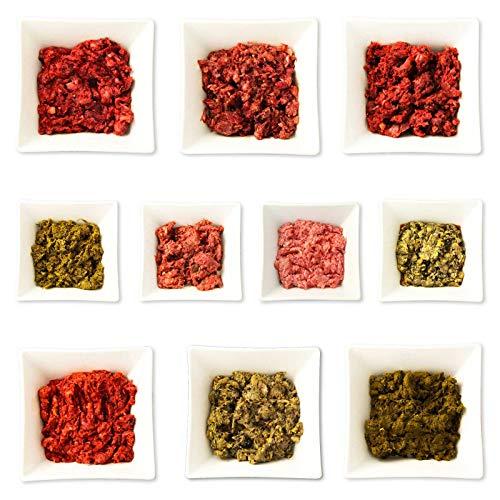 Frostfutter Perleberg Barf Hundefutter 24kg Dauerbrenner-Paket für Hunde