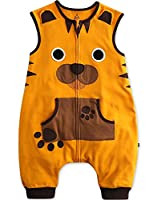 [Free Shipping]Vaenait Baby 1-7 Yrs 100% Cotton Kids Sleep and Play Blanket Sleepsack Sleep Tiger L