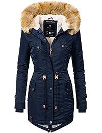 Navahoo Damen Winter Mantel Winterparka La Viva (Vegan Hergestellt) 11  Farben XS-XXL b12b743aa0