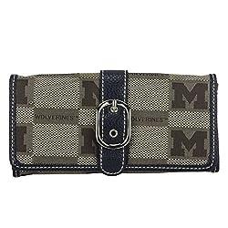 NCAA Michigan Wolverines Marlo Signature Wallet, Small
