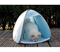 Portable & Lightweight, facile da assemblare e dissemblea, pieghevole ed è comodo da percorrere per escursioni all'aperto. Il fondo è fatto di materiale antiscivolo per impedirlo scivolamento in modo che i tuoi animali...
