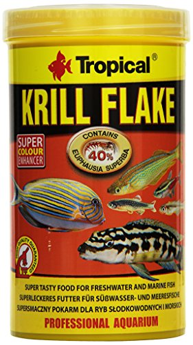 Tropical Krill Flake, farbverstärkendes Flockenfutter mit Krill, 1er Pack (1 x 500 ml)