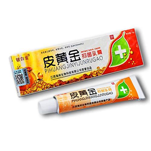 Pretty Comy Chinesische Pflanzliche Bakteriostatische Salbe丨Sterilisation Antibakterielles Mittel zur Unterdrückung Juckreiz Gesundheitswesen丨Pflanzliche Kräutersalbe 15g