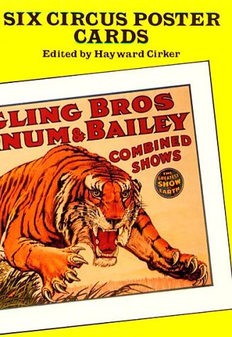 Six Circus Poster Postcards (Small-Format Card Books)