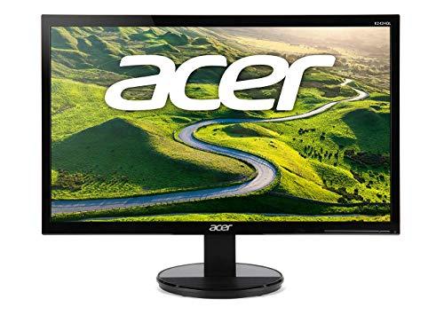 Acer K2 K242HQLCbid LED Display 59,9 cm (23.6 Zoll) Full HD Schwarz - Computerbildschirme (59,9 cm (23.6 Zoll), 1920 x 1080 Pixel, Full HD, LED, 1 ms, Schwarz)