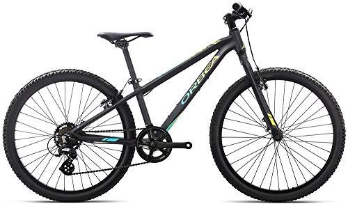 Orbea Vélo pour Enfant VTT MX 24 Dirt 7 Vitesses 24'', Couleur : Noir picha