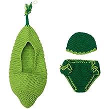 Aivtalk - Disfraces Trajes Apoyo Hamaca de Fotografía Fotos de Punto de Ganchilo para Bebés Recién