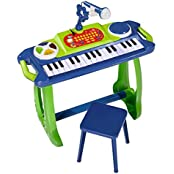 Simba 106838886 - My Music World Standkeyboard 50cm