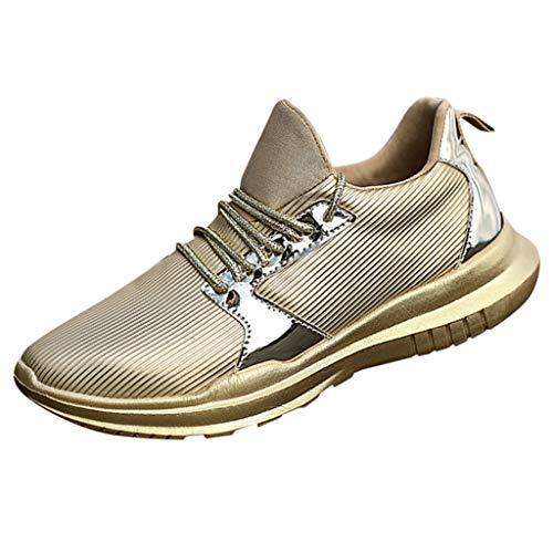 KERULA Laufschuhe Damen Herren Mesh Atmungsaktive Schnürschuhe Leichte Bequeme Sneakers Schuhe Turnschuhe Running Atmungsaktiv Wanderstiefel Sicherheitsstiefel Sportlich Wanderhalbschuhe Outdoor