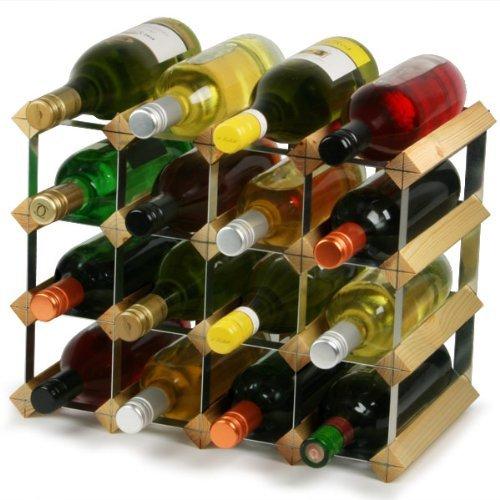 Barprofessional Weinregal 16Flaschen, Multicolor, klein