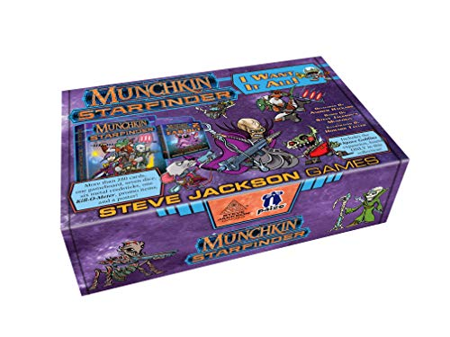 Steve Jackson Games SJG04476 Munchkin Starfinder: I Want it All (Big Box), Mehrfarbig Preisvergleich