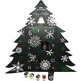 Hallingers Tee-Adventskalender 24 Tees aus aller Welt (240g) - All I Want For Christmas Is You (Deluxe-Box) - zu Weihnachten Adventskalender Regenbogen, LGBT Pride