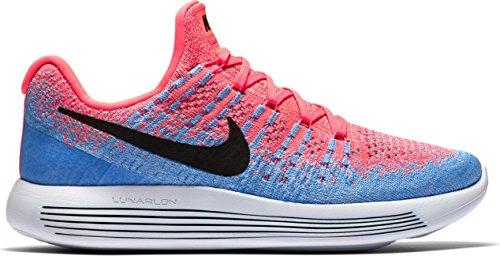 9dc877728bb Zapato de running Nike LunarEpic Low Flyknit 2 para mujer HOT PUNCH    BLACK-ALUMINIUM