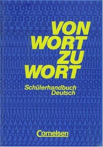Von Wort zu Wort - Alte Ausgabe 1991: Wörterbuch: Kartoniert