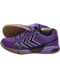 Hummel–Zapatillas de balonmano para AUTHENTIC (Sunset/Purple)