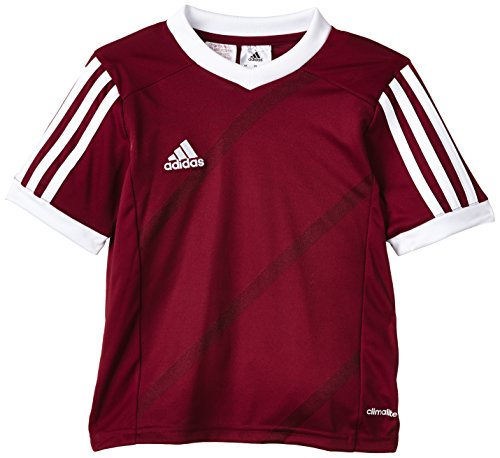 adidas Kinder Trikot Tabela 14, University Red/White, 140