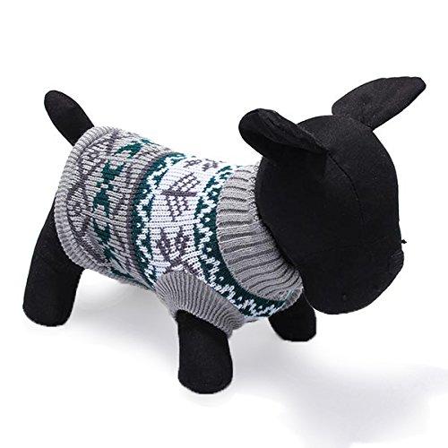 Tutoy Haustier Hund Gestrickt Breathable Warm Pullover Winter Outwear Coat (Niedliche Meerschweinchen Kostüme Für)