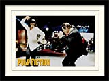 1art1 101655 - Poster con Cornice Pulp Fiction - Dance, 40 x 30 cm