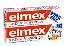 elmex Kinder-Zahnpasta, 0-6 Jahre, 2er Pack (2 x 50 ml)